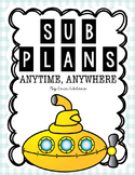 Sub Plans & Activities For the ENTIRE YEAR {Reusable & Edi