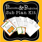 Sub Plans Kit - Owl Theme