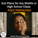 Sub Plans for Any Middle or High School Class: Being Above