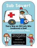 Sub Saver! - Emergency Sub Plans - There Was An Old Lady W