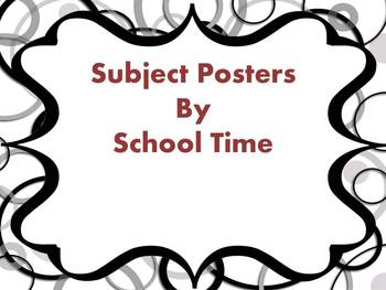 Subject Area Posters