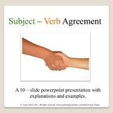 Subject Verb Agreement Power Point