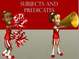 Subject and predicate Sentence Structure PowerPoint and In
