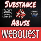 Substance Abuse Webquest Worksheet
