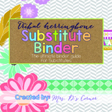 Substitute Binder { Tribal Herringbone } - The Ultimate Su