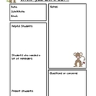 Substitute Report Pages