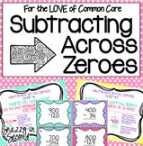 Subtracting Across Zeroes Pack