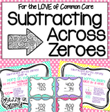 Subtracting Across Zeroes Pack
