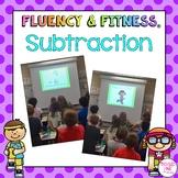Subtraction Fluency & Fitness Bundle