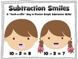 Subtraction Smiles (A Dental Health Themed Math Center Act