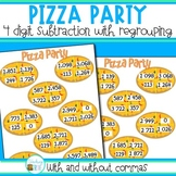 Subtraction game - 4 digit subtraction with regrouping