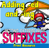 Suffix Skaters, Adding -ing and -ed