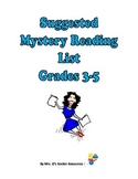 Suggested Mystery Reading List Grades 3-5