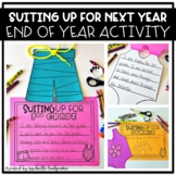 Suiting Up For Next Year {end of year craftivity}