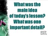 Summarizing Questions Bingo