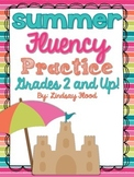 Summer Fluency {Grades 2 & Up!}