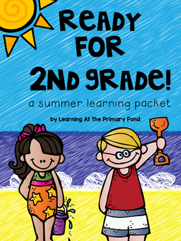 Summer Homework Pack for Rising Second Graders (who have completed 1st grade)