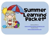 Summer Learning Take Home Packet