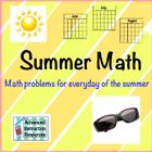 Summer Math Packet June/July/August - 2015