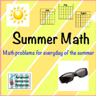 Summer Math Packet June/July/August - 2015