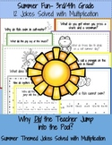 Math Fun: Summer Multiplication Practice