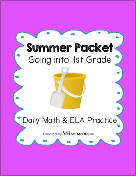 Summer Packet: Going into 1st Grade