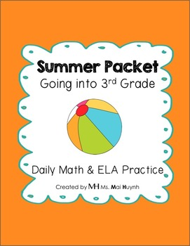 Summer Packet - Going into 3rd Grade