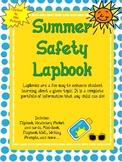 Summer Safety Lapbook