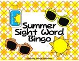 Summer Sight Word Bingo