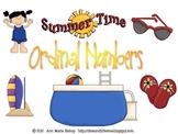 Summer Time Ordinal Numbers