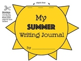 Summer Writing Journal {Sun-Shaped Flip-Up Booklet}