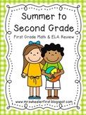 Summer to Second Grade: Summer Skills Review