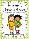 Summer to Second Grade: Summer Skills Review