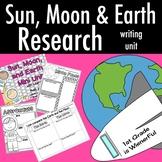 Sun, Moon, and Earth~Writing Mini Unit~