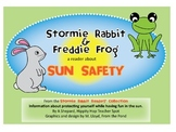 Sun Safety Reader w/Questions/Word Search{Stormie Rabbit a