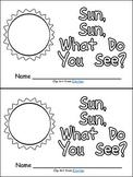 Sun, What Do You See Emergent Reader & Pocket Chart Kinder