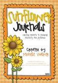 Sunflower Journals Writing Prompts to Promote Positivity &