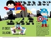 """Super Boy: """"EAR"""" Articulation Mini-Book"""