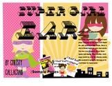 """Super Girl: """"EAR"""" Articulation Mini-Book"""