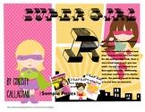 Super Girl: Pre-Vocalic R Articulation Mini-Book