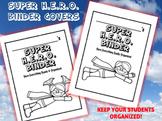 Super H.E.R.O. Binder Cover