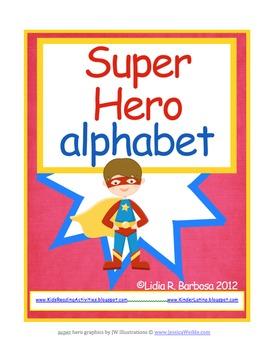 Super Hero Alphabet
