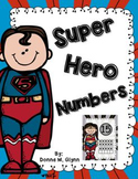 Super Hero Number Cards 0-20
