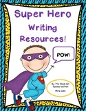 Super Hero Writing Pack