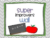 Super Improver Wall Cards