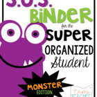Super Organized Student Take Home Binder System [EDITABLE]