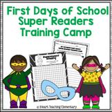 Super Readers Training Camp
