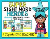 Super Sight Word Heroes {Growing Bundle}