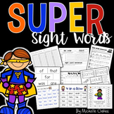 Super Sight Words Pack