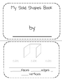 Super Solid Shapes Mini-Book
